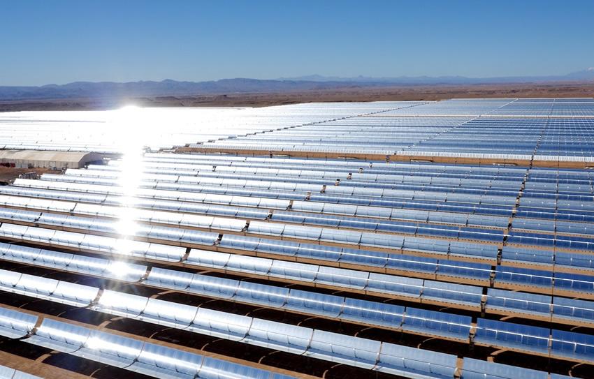 Resultado de imagem para BASF contribui para a construção sustentável da maior usina de energia solar concentrada do mundo, em Marrocos